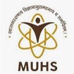 MUHS recruitment 2018-19 notification