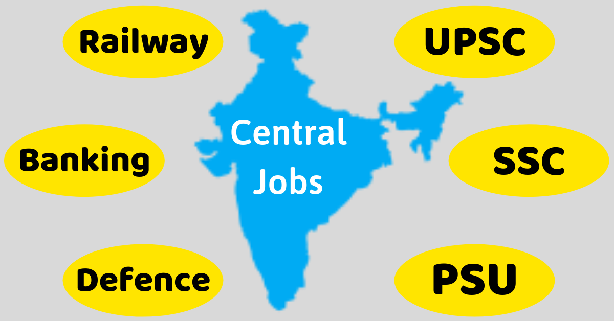 Central Govt Jobs in All India 2019-20 Notification